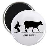 Ski Iowa Magnet