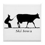 Ski Iowa Tile Coaster