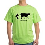 Ski Iowa Green T-Shirt