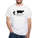 Ski Iowa White T-Shirt