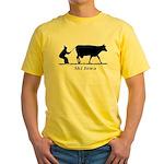 Ski Iowa Yellow T-Shirt
