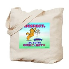 Respect Garfield Tote Bag