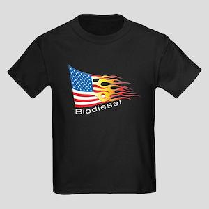 Flag 3 Kids Dark T-Shirt