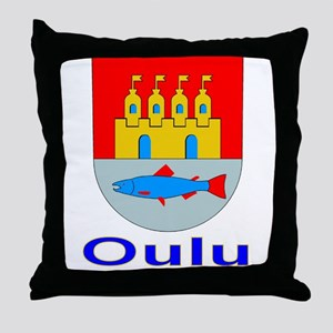 The Oulu Store Throw Pillow