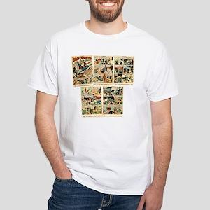 Vintage Comics: WONDERMAN White T-Shirt