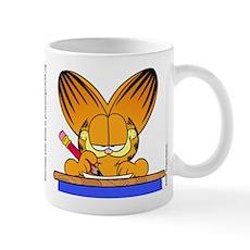Learn to Listen Garfield Mug