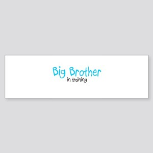 Big Brother in Training Bumper Sticker