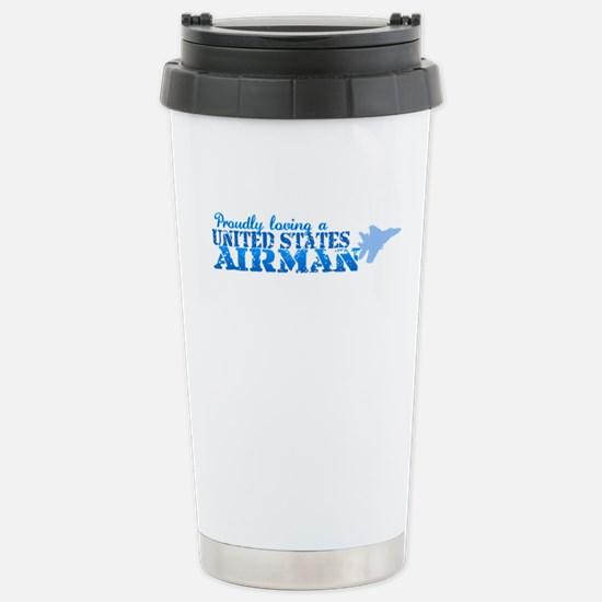 Proudly Loving Stainless Steel Travel Mug