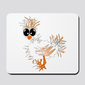 Fluffy Chicken Mousepad