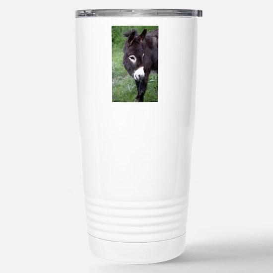 Black Donkey Stainless Steel Travel Mug