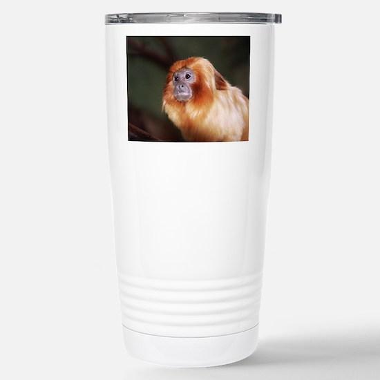 Golden Lion Tamarin Stainless Steel Travel Mug