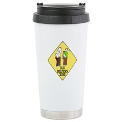 OLD GOLFERS XING Stainless Steel Travel Mug