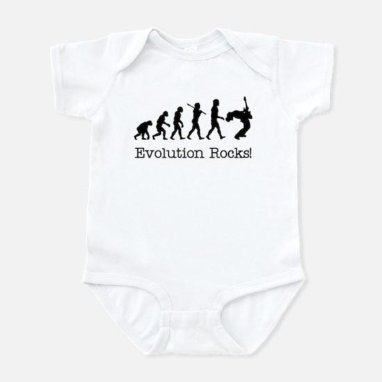 Evolution Rocks Infant Bodysuit