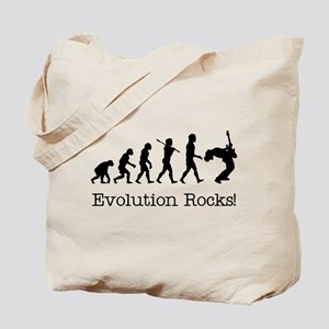 Evolution Rocks Tote Bag