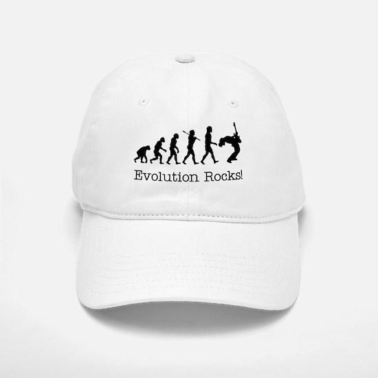 Evolution Rocks Baseball Baseball Cap