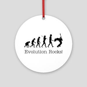 Evolution Rocks Ornament (Round)