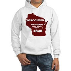 Wisconsin Outdrinking Your St Hoodie