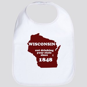 Wisconsin Outdrinking Your St Bib