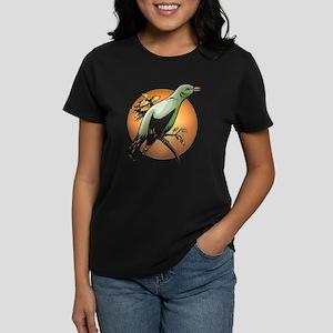 Green Bird Women's Dark T-Shirt