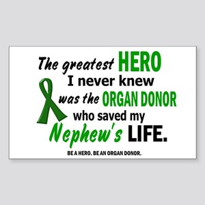 Hero I Never Knew 1 (Nephew) Rectangle Sticker