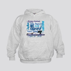 Language of Skating Kids Hoodie