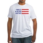 Families Belong Together Fitted T-Shirt