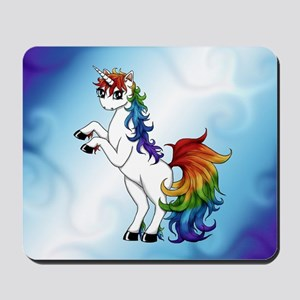 Rainbow Unicorn Mousepad