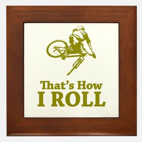 Biker Framed Tile