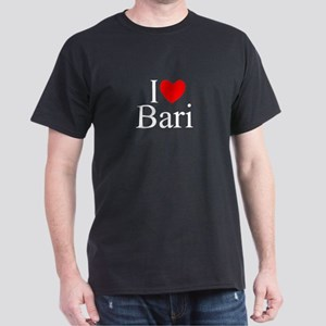 """I Love (Heart) Bari"" Dark T-Shirt"