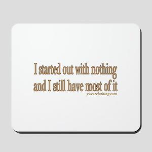 Nothing Mousepad