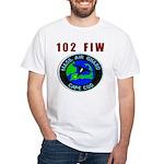 102 FIW MASS. AIR GUARD White T-Shirt