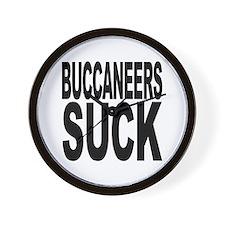 Buccaneers Suck Wall Clock
