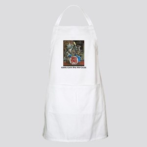 Cool Cats Dig Hip Jazz BBQ Apron