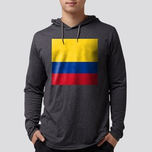 national flag of colombia Long Sleeve T-Shirt