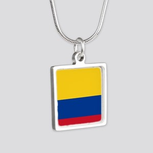 national flag of colombia Necklaces