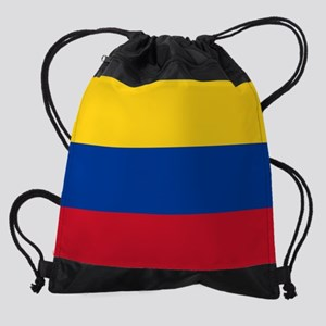 national flag of colombia Drawstring Bag