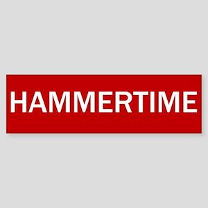 Stop Hammertime Sign Bumper Sticker