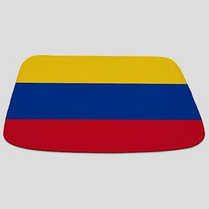 national flag of colombia Bathmat