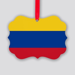 national flag of colombia Picture Ornament