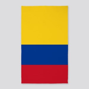 national flag of colombia Area Rug