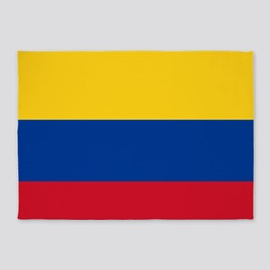 national flag of colombia 5'x7'Area Rug