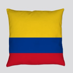national flag of colombia Everyday Pillow