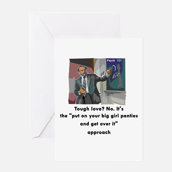 Get Over It! Greeting Card