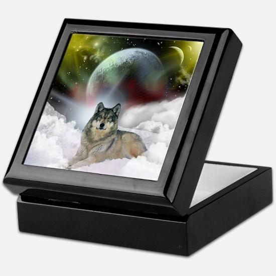 Fantasy Wolf Keepsake Box