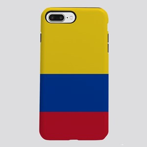 national flag of colomb iPhone 8/7 Plus Tough Case