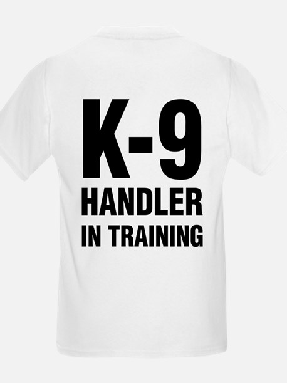 Kids K-9 Handler Trainee T-Shirt