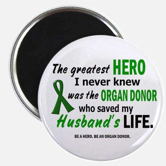Hero I Never Knew 1 (Husband) Magnet