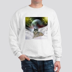 Fantasy Wolf Sweatshirt
