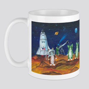 Take Me To Your Leader Pembroke Welsh Corgi Mug