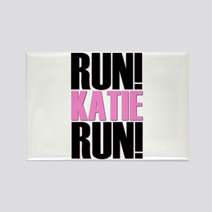 Run Katie Run Rectangle Magnet